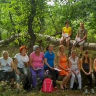 Youth Weekend in nature in Moldova, August 2016