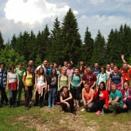 Youth weekend in Sarajevo, Bosnia-Herzegovina, June 2017