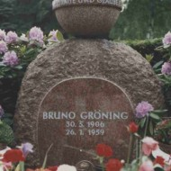 Bruno Grönings grav i Dillenburg